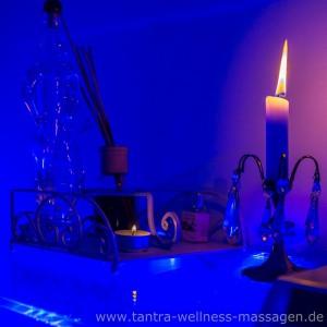 Blauer Raum