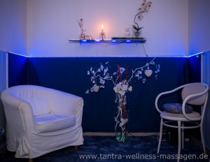 Blauer Raum wellness tantra massagen